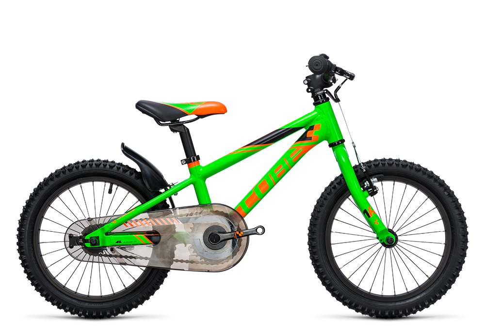 Cube Kid 160 flashgreen´n´orange 2017 Größe: 16´´ - Cube Kid 160 flashgreen´n´orange 2017 Größe: 16´´