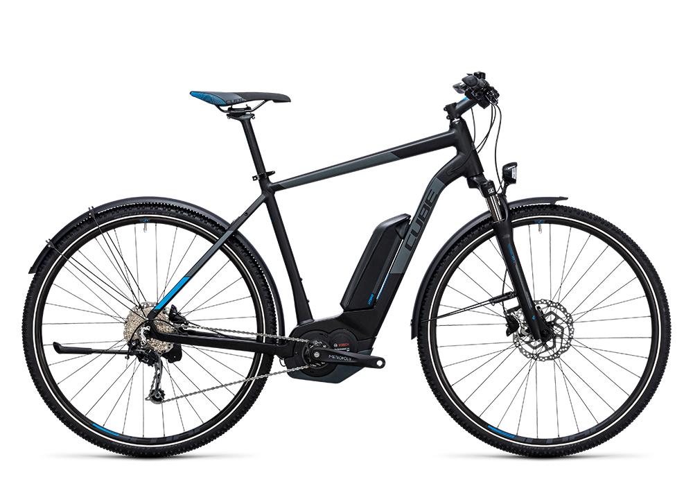 Cube Cross Hybrid Pro Allroad 400 black´n´blue 2017 Größe: 50 cm - Bergmann Bike & Outdoor