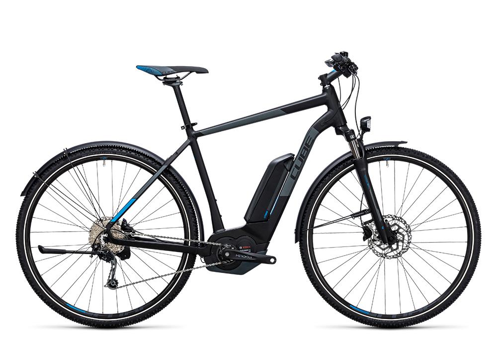 Cube Cross Hybrid Pro Allroad 500 black´n´blue 2017 Größe: 50 cm - Bergmann Bike & Outdoor