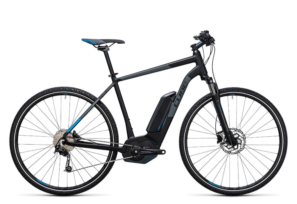 Cube Cross Hybrid Pro 400 black´n´blue 2017 Größe: 50 cm - Bergmann Bike & Outdoor