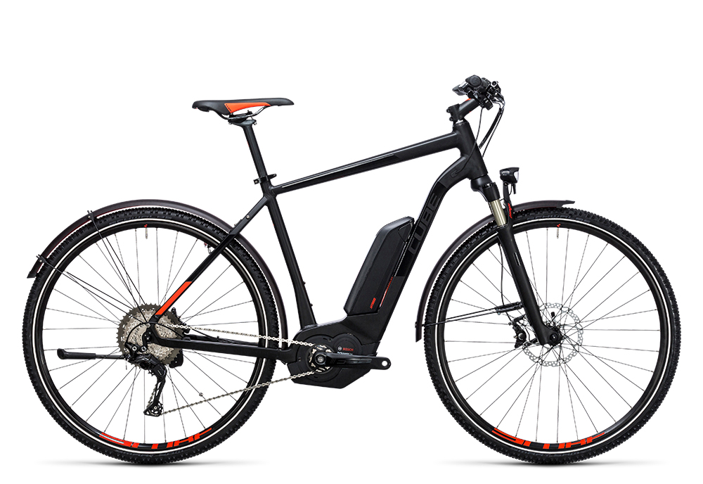 Cube Cross Hybrid SL Allroad 500 black´n´flashred 2017 Größe: 50 cm - Bergmann Bike & Outdoor