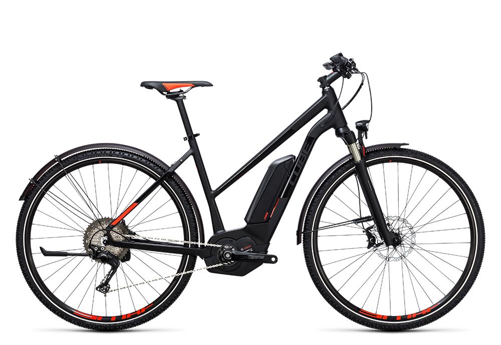 Cube Cross Hybrid SL Allroad 500 black´n´flashred 2017 Größe: Trapeze 46 cm - Bergmann Bike & Outdoor