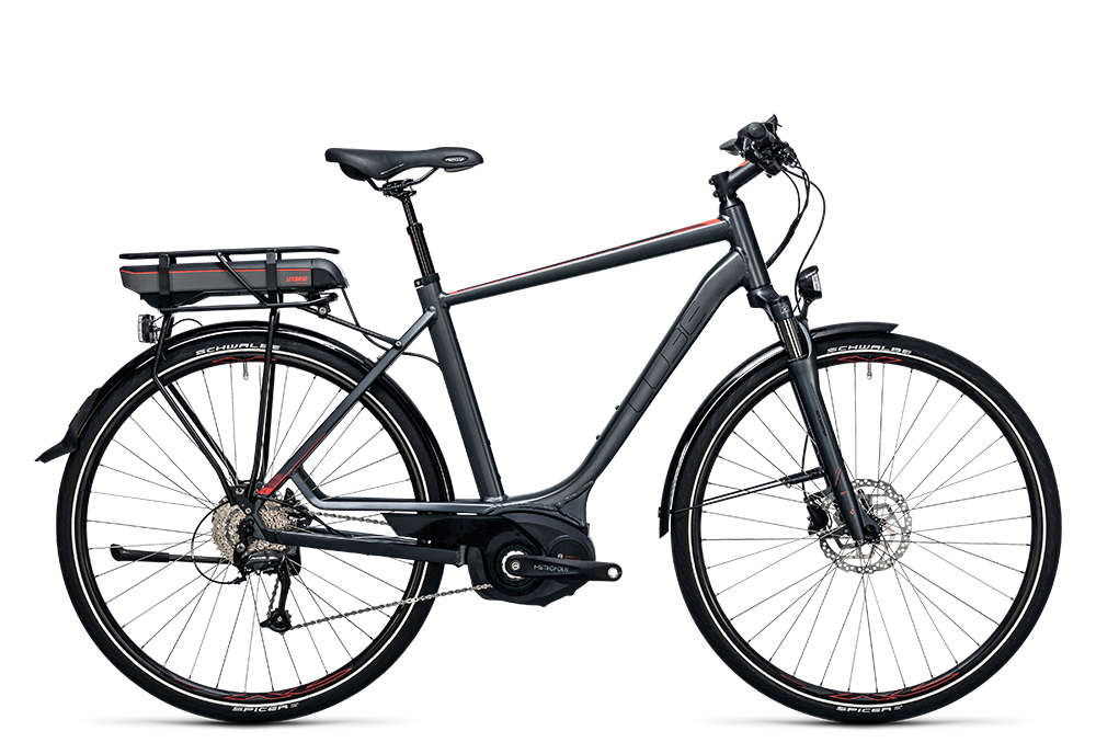 Cube Touring Hybrid 400 grey´n´flashred 2017 Größe: 50 cm - Bergmann Bike & Outdoor