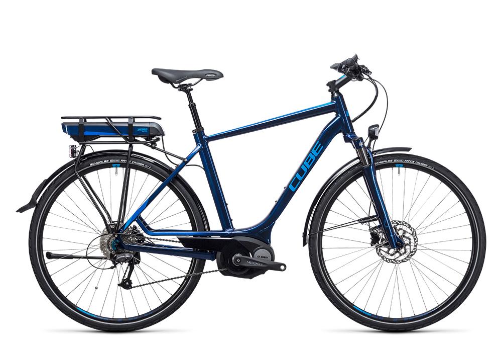Cube Touring Hybrid 400 blue´n´blue 2017 Größe: 50 cm - Bergmann Bike & Outdoor