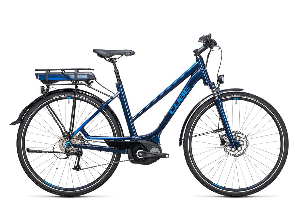 Cube Touring Hybrid 400 blue´n´blue 2017 Größe: Easy Entry 46 cm - Bergmann Bike & Outdoor