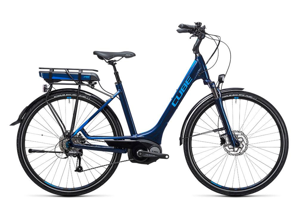 Cube Touring Hybrid 400 blue´n´blue 2017 Größe: Trapeze 46 cm - Bergmann Bike & Outdoor