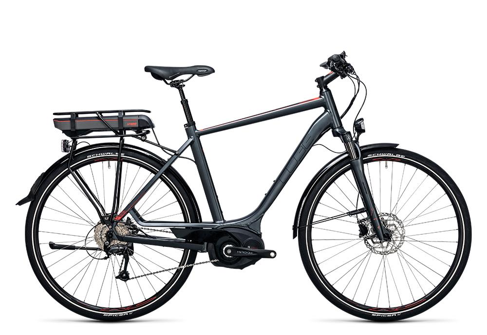 Cube Touring Hybrid Pro 500 grey´n´flashred 2017 Größe: 50 cm - Bergmann Bike & Outdoor