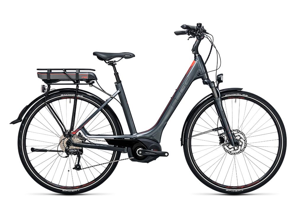 Cube Touring Hybrid Pro 500 grey´n´flashred 2017 Größe: Trapeze 46 cm - Bergmann Bike & Outdoor