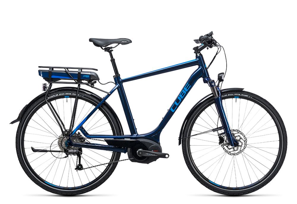 Cube Touring Hybrid Pro 500 blue´n´blue 2017 Größe: 50 cm - Bergmann Bike & Outdoor