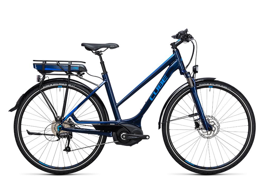 Cube Touring Hybrid Pro 500 blue´n´blue 2017 Größe: Easy Entry 46 cm - Bergmann Bike & Outdoor
