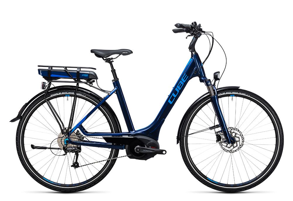 Cube Touring Hybrid Pro 500 blue´n´blue 2017 Größe: Trapeze 46 cm - Bergmann Bike & Outdoor