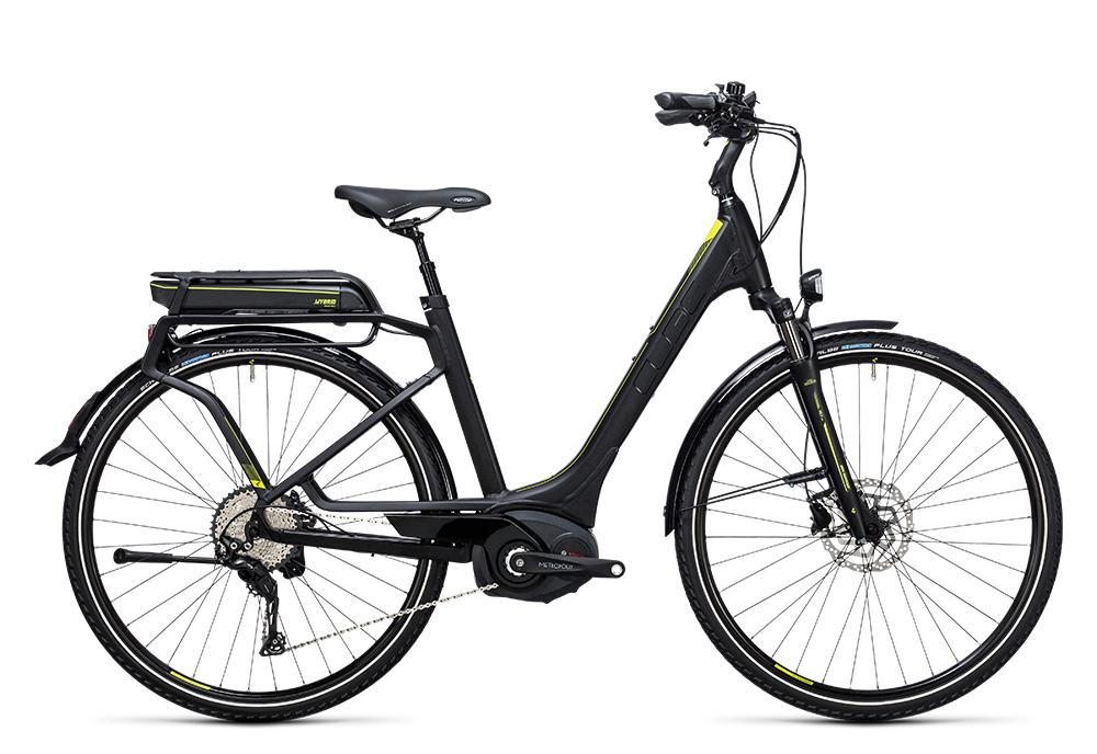 Cube Touring Hybrid Exc 400 black´n´lime 2017 Größe: Trapeze 46 cm - Bergmann Bike & Outdoor