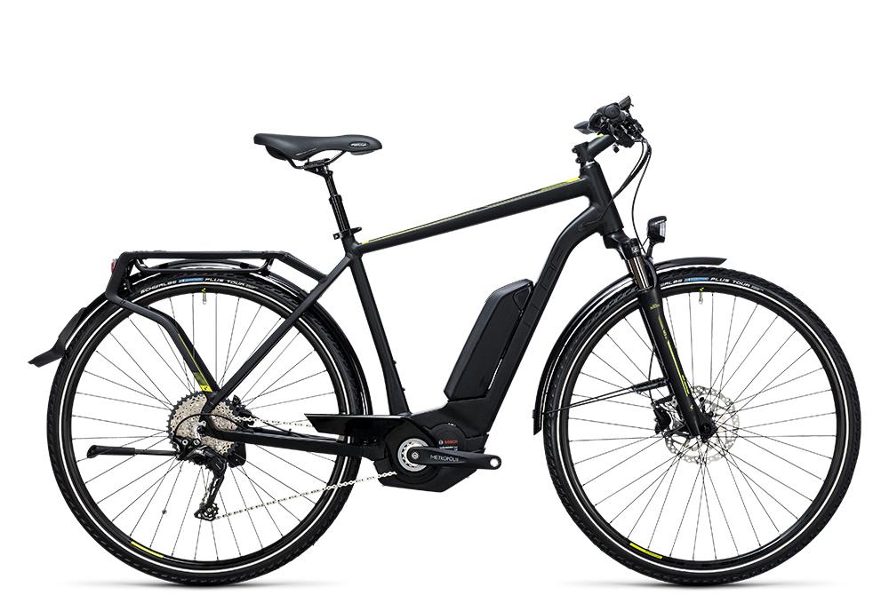 Cube Touring Hybrid Exc 500 black´n´lime 2017 Größe: 50 cm - Bergmann Bike & Outdoor