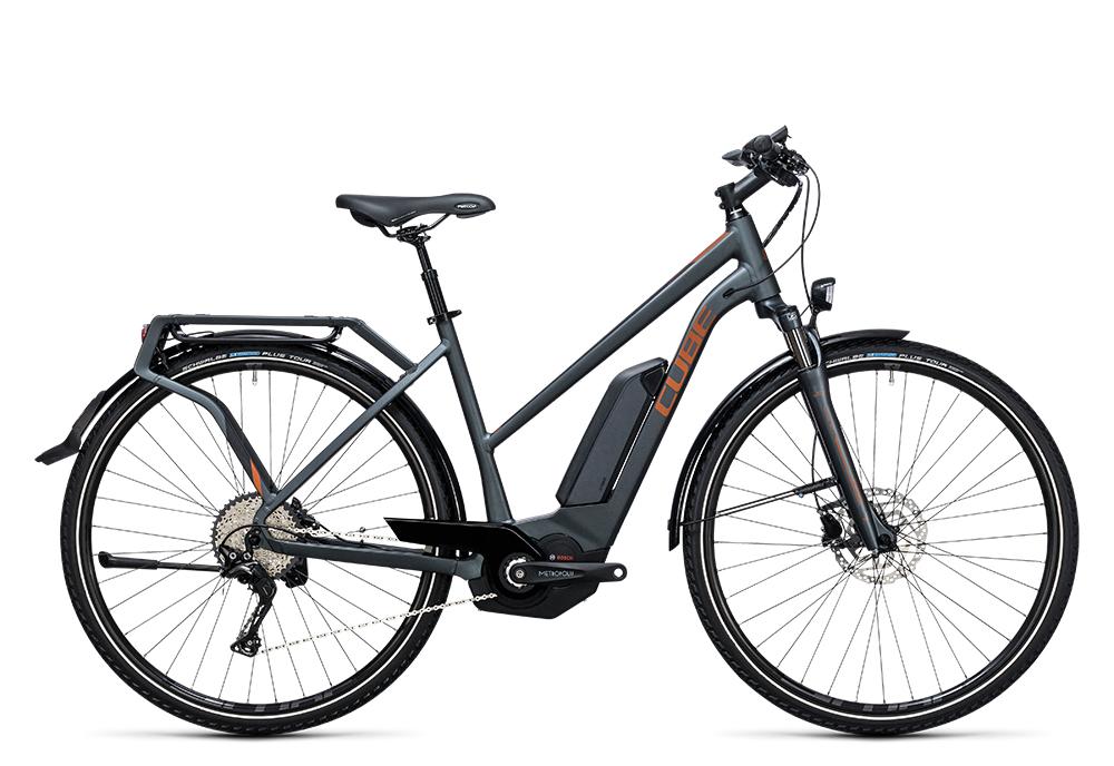 Cube Touring Hybrid Exc 400 grey´n´copper 2017 Größe: Easy Entry 46 cm - Bergmann Bike & Outdoor