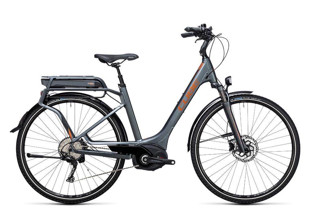 Cube Touring Hybrid Exc 400 grey´n´copper 2017 Größe: Trapeze 46 cm - Bergmann Bike & Outdoor