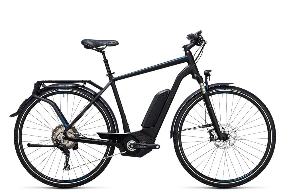 Cube Touring Hybrid SL 500 black´n´flashblue 2017 Größe: 50 cm - Bergmann Bike & Outdoor