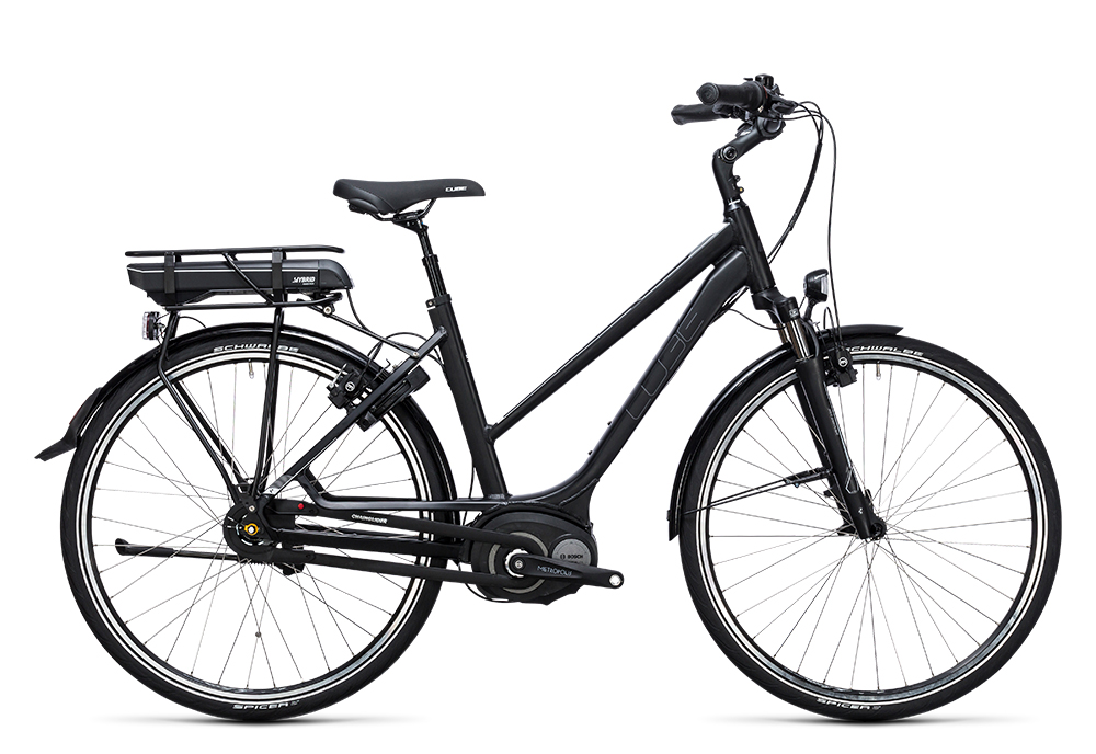Cube Travel Hybrid 500 black´n´white 2017 Größe: Easy Entry 46 cm - Bergmann Bike & Outdoor