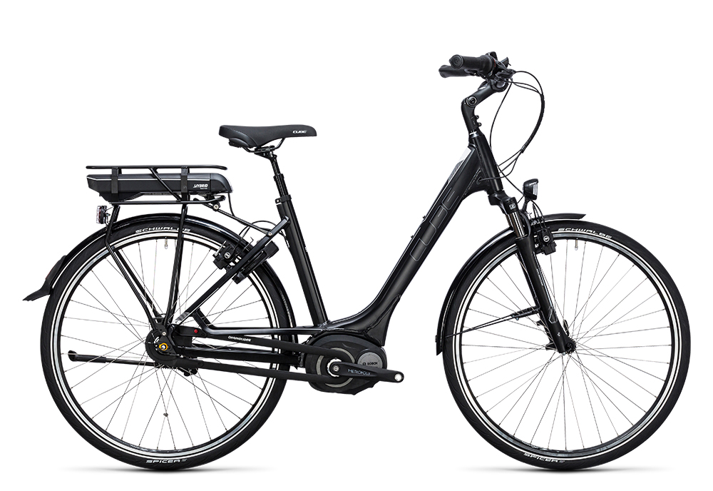 Cube Travel Hybrid 500 black´n´white 2017 Größe: Trapeze 46 cm - Bergmann Bike & Outdoor