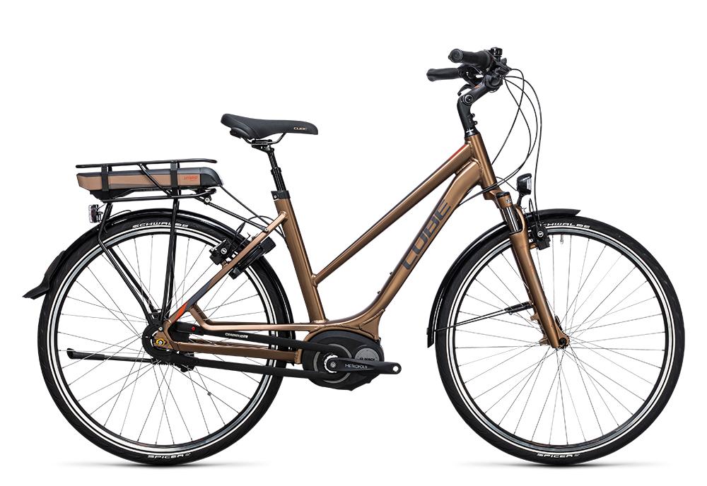Cube Travel Hybrid 500 havanna brown´n´orange 2017 Größe: Easy Entry 46 cm - Bergmann Bike & Outdoor