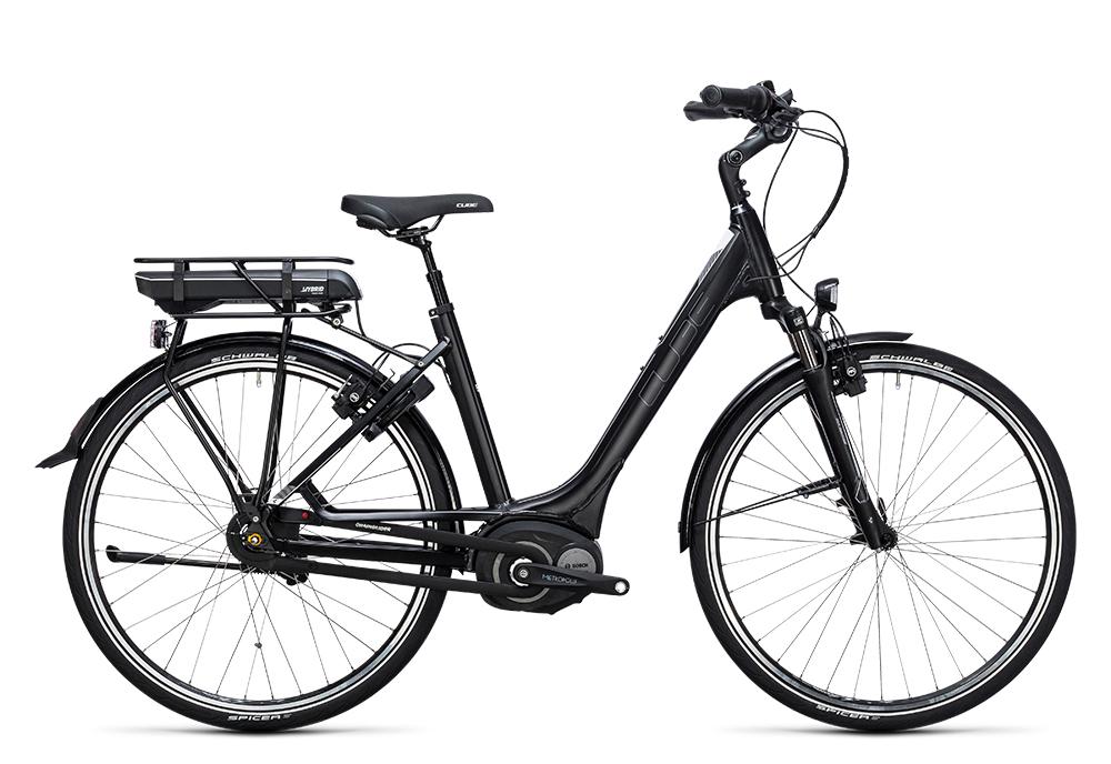 Cube Travel Hybrid RT 400 black´n´white 2017 Größe: Easy Entry 46 cm - Bergmann Bike & Outdoor