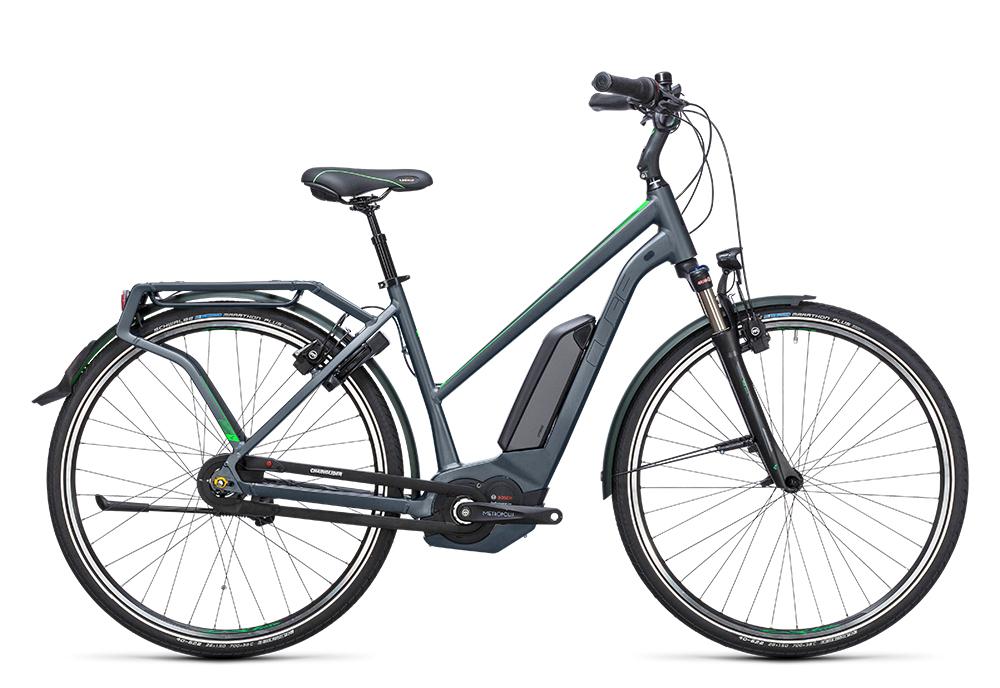 Cube Travel Hybrid Pro 400 grey´n´flashgreen 2017 Größe: Easy Entry 46 cm - Bergmann Bike & Outdoor
