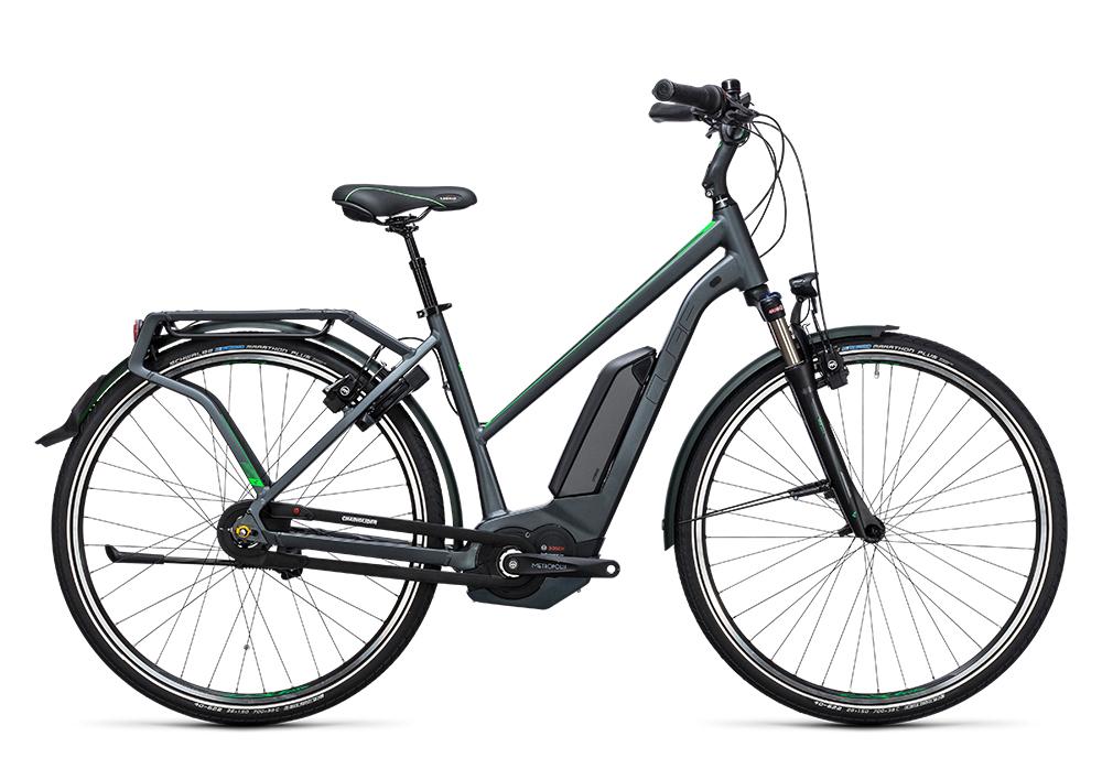 Cube Travel Hybrid Pro 500 grey´n´flashgreen 2017 Größe: Easy Entry 46 cm - Bergmann Bike & Outdoor