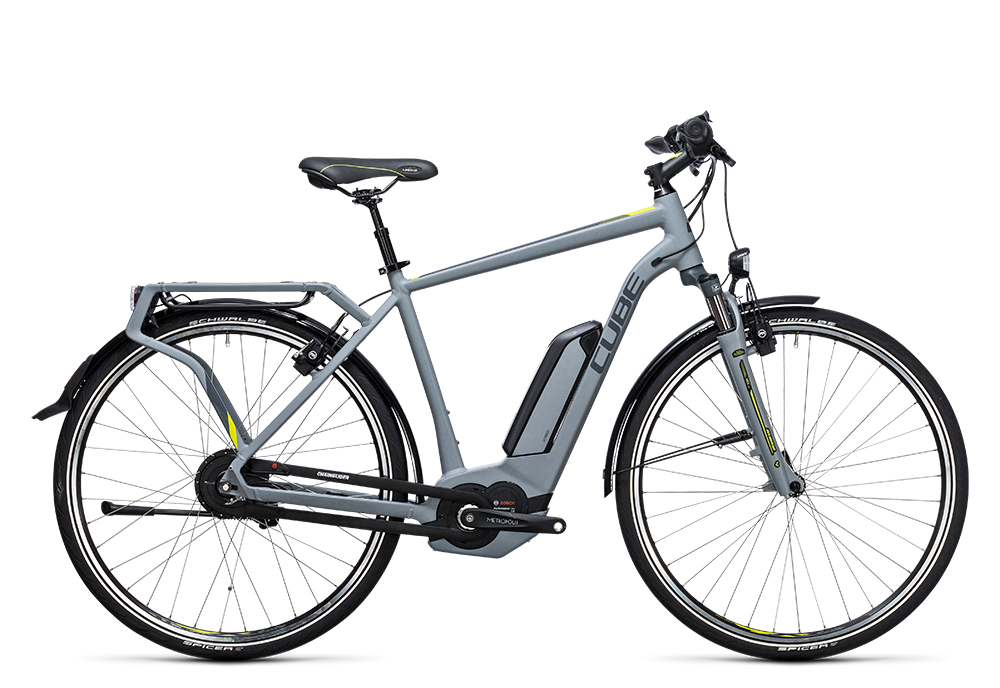 Cube Delhi Hybrid 400 grey´n´lime 2017 Größe: 50 cm - Bergmann Bike & Outdoor