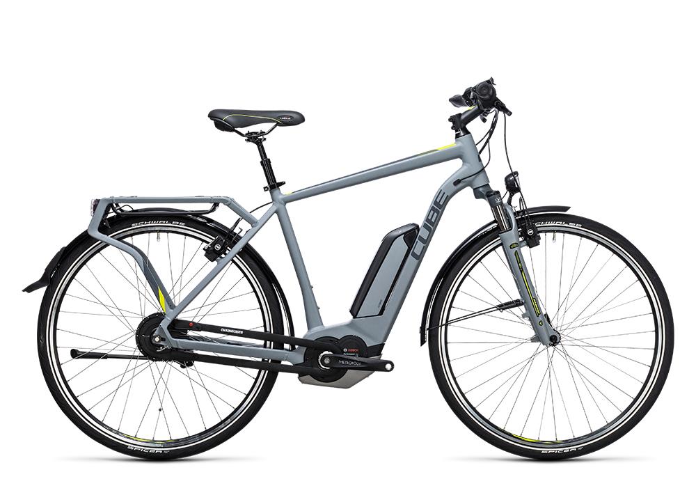 Cube Delhi Hybrid 500 grey´n´lime 2017 Größe: 50 cm - Bergmann Bike & Outdoor