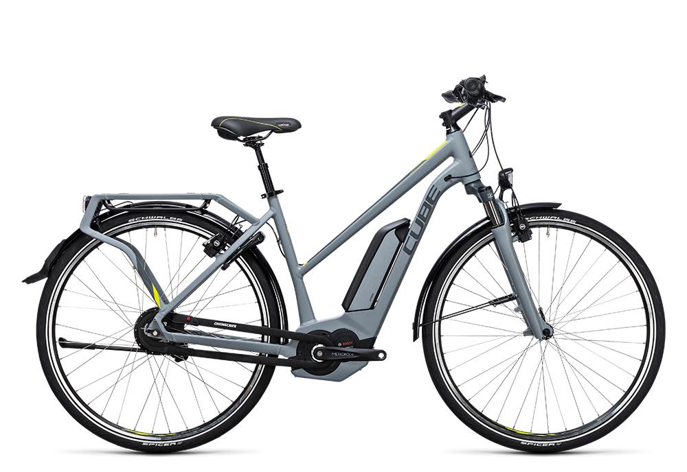 Cube Delhi Hybrid 500 grey´n´lime 2017 Größe: Easy Entry 46 cm - Bergmann Bike & Outdoor