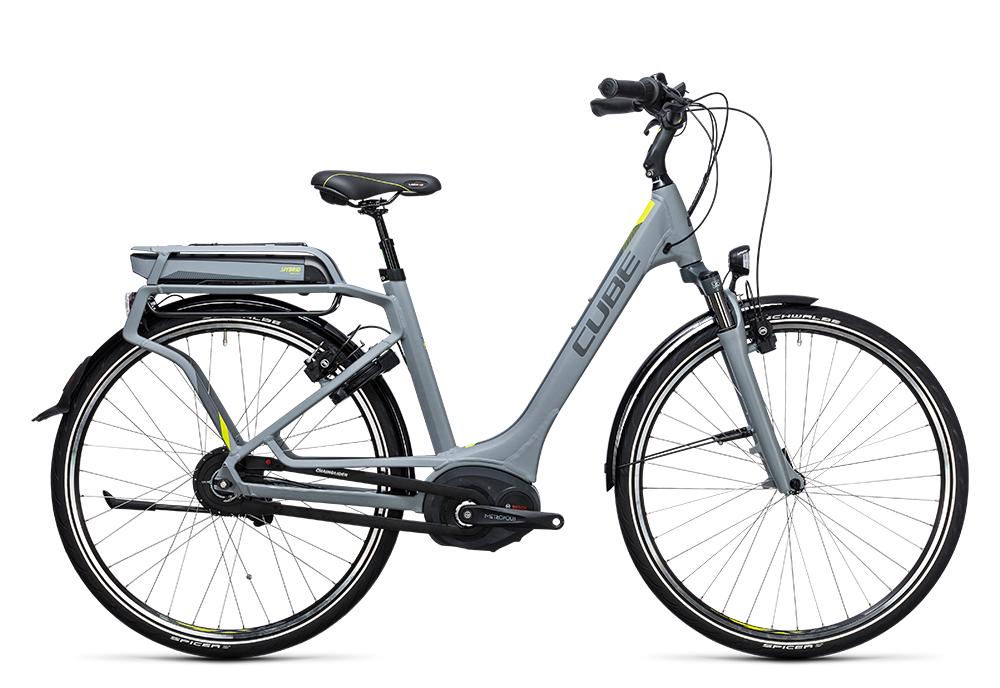 Cube Delhi Hybrid 500 grey´n´lime 2017 Größe: Trapeze 46 cm - Bergmann Bike & Outdoor