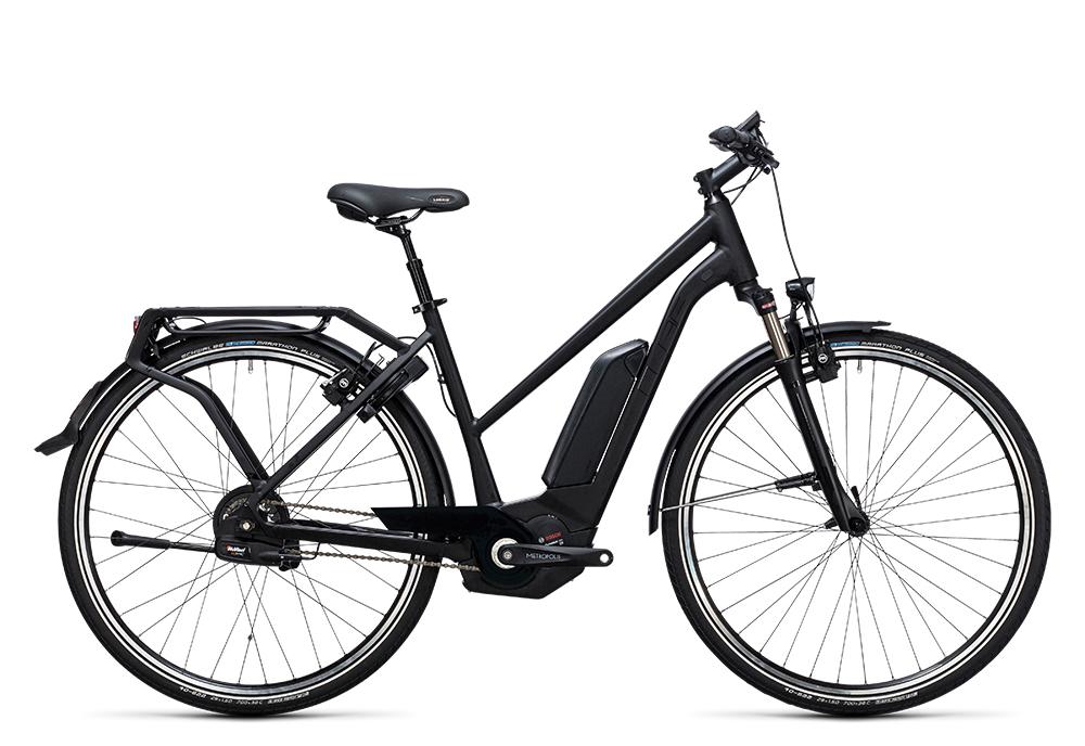 Cube Delhi Hybrid Pro 500 black edition 2017 Größe: Easy Entry 46 cm - Bergmann Bike & Outdoor