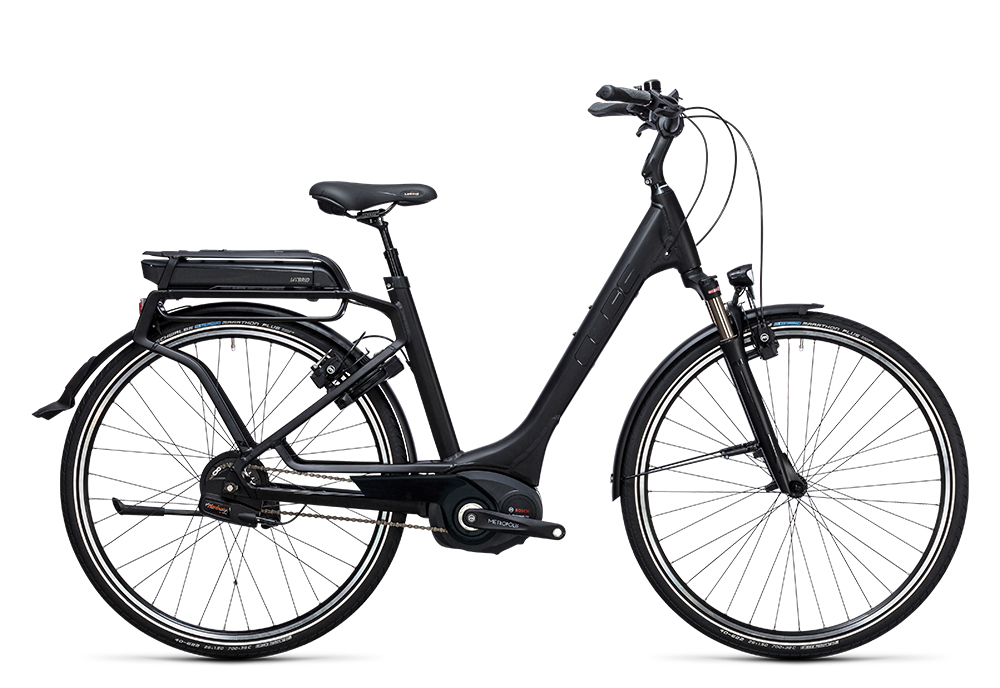 Cube Delhi Hybrid Pro 500 black edition 2017 Größe: Trapeze 46 cm - Bergmann Bike & Outdoor