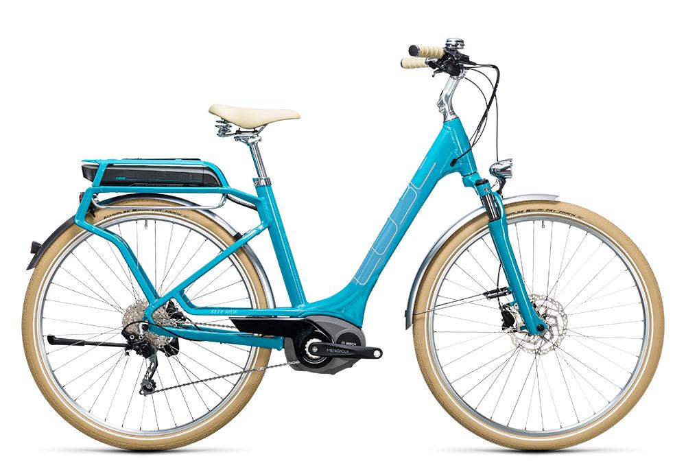 Cube Elly Ride Hybrid 400 blue´n´aqua 2017 Größe: Easy Entry 46 cm - Bergmann Bike & Outdoor