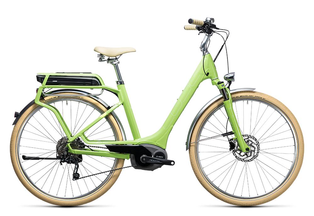 Cube Elly Ride Hybrid 400 green´n´white 2017 Größe: Easy Entry 46 cm - Bergmann Bike & Outdoor