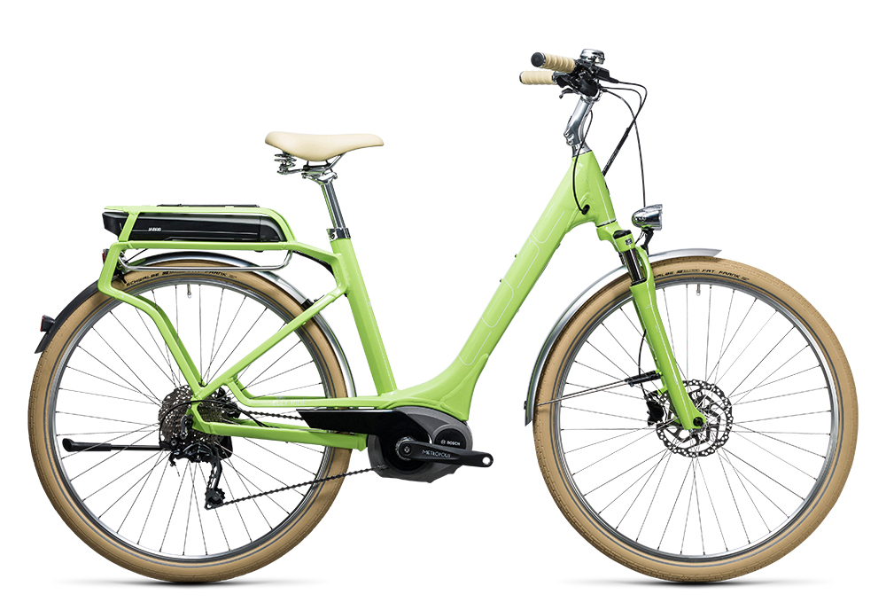 Cube Elly Ride Hybrid 500 green´n´white 2017 Größe: Easy Entry 46 cm - Bergmann Bike & Outdoor