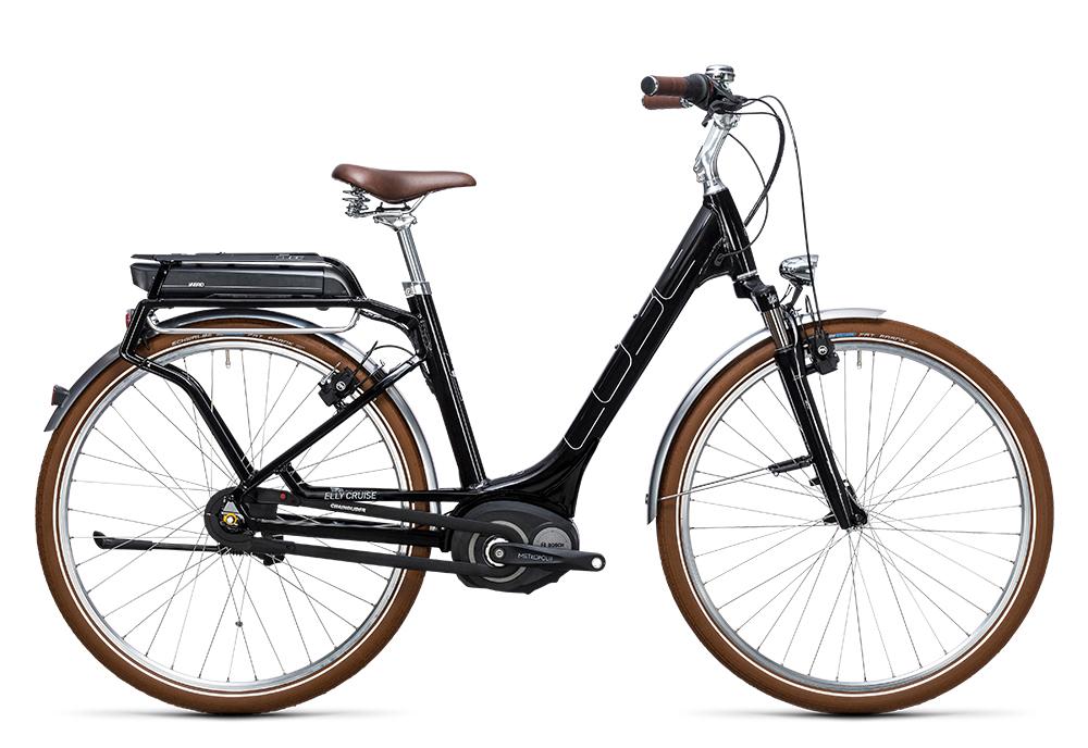 Cube Elly Cruise Hybrid 400 black´n´white 2017 Größe: Easy Entry 46 cm - Bergmann Bike & Outdoor