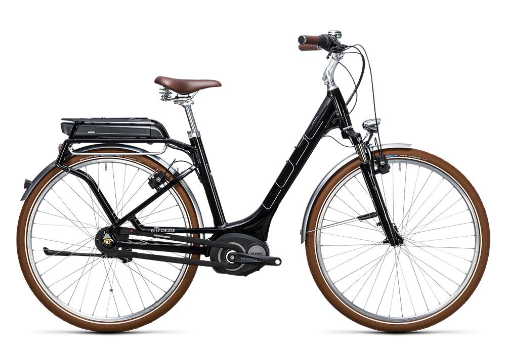 Cube Elly Cruise Hybrid 500 black´n´white 2017 Größe: Easy Entry 46 cm - Bergmann Bike & Outdoor