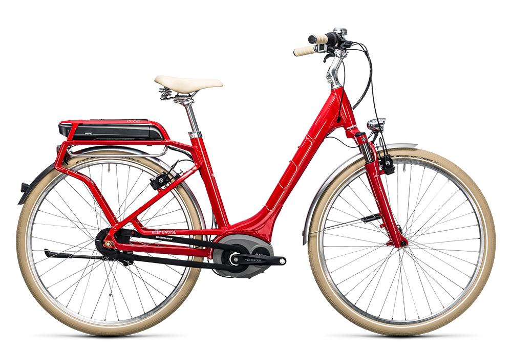 Cube Elly Cruise Hybrid 500 red´n´white 2017 Größe: Easy Entry 46 cm - Bergmann Bike & Outdoor