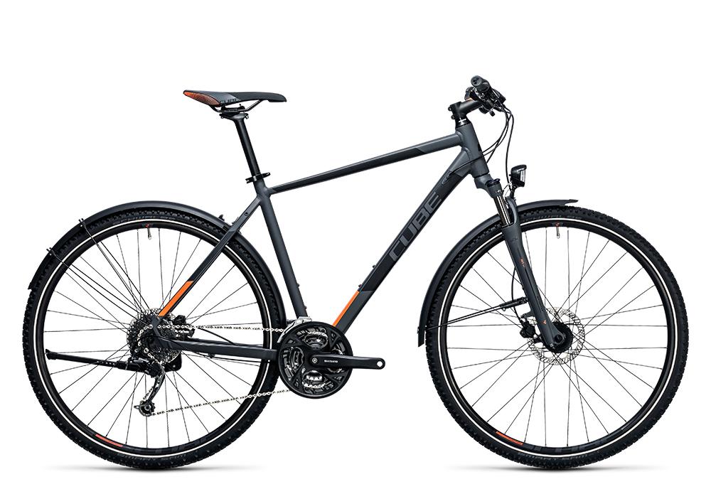 Cube Curve Allroad grey´n´flashorange 2017 Größe: 54 cm - Cube Bikes » Fahrrad kaufen im Cube Bike Store Fahrrad Shop