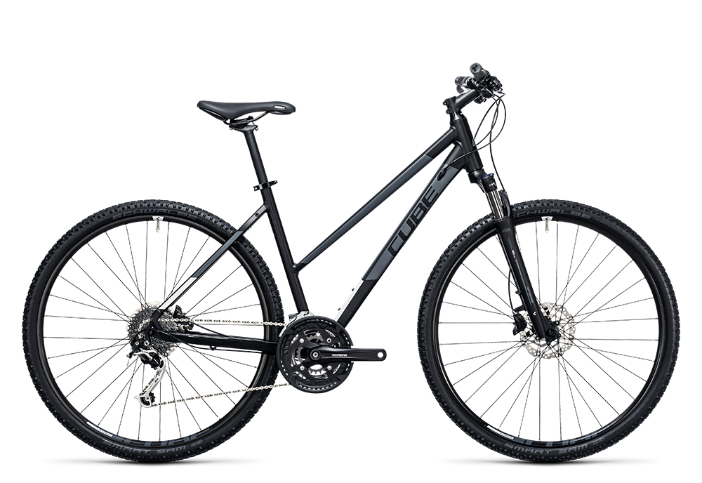Cube Nature black´n´white 2017 Größe: Trapeze 46 cm - Bergmann Bike & Outdoor