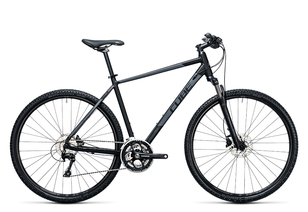 Cube Nature Pro black´n´grey 2017 Größe: 46 cm - Bergmann Bike & Outdoor