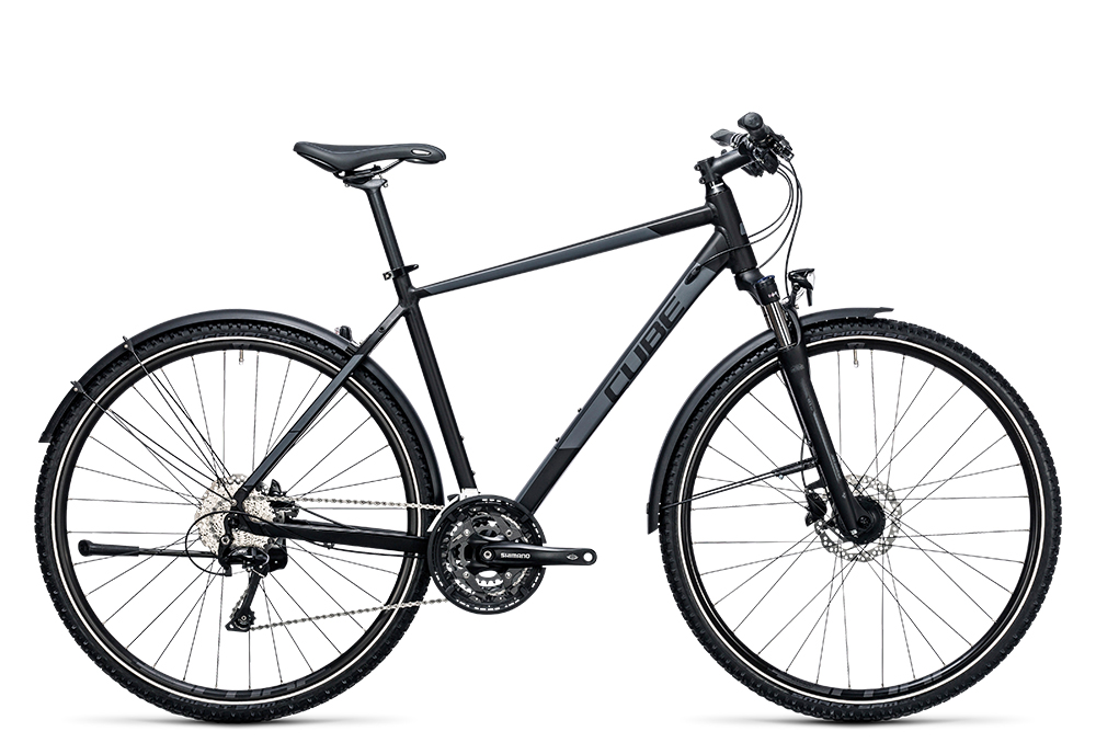Cube Nature Allroad black´n´grey 2017 Größe: 58 cm - Cube Nature Allroad black´n´grey 2017 Größe: 58 cm