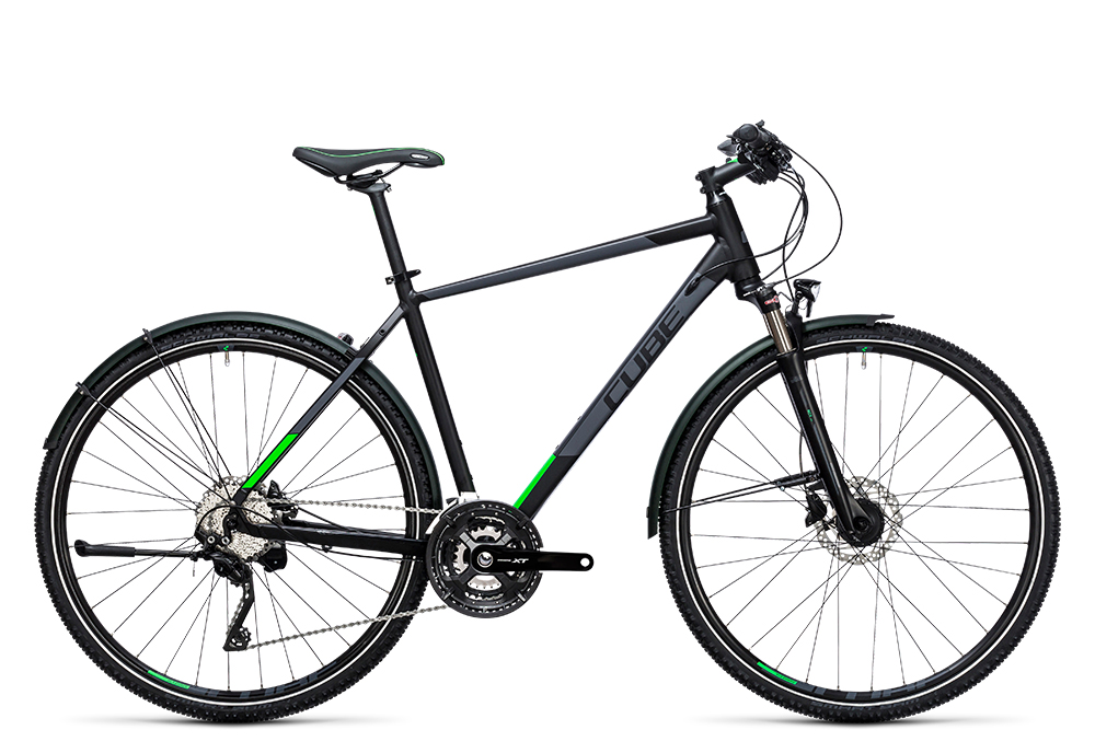Cube Cross Allroad black´n´flashgreen 2017 Größe: 58 cm - Cube Cross Allroad black´n´flashgreen 2017 Größe: 58 cm