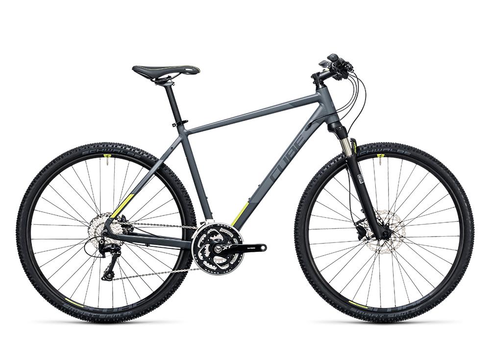 Cube Cross Pro grey´n´lime 2017 Größe: 46 cm - Bergmann Bike & Outdoor