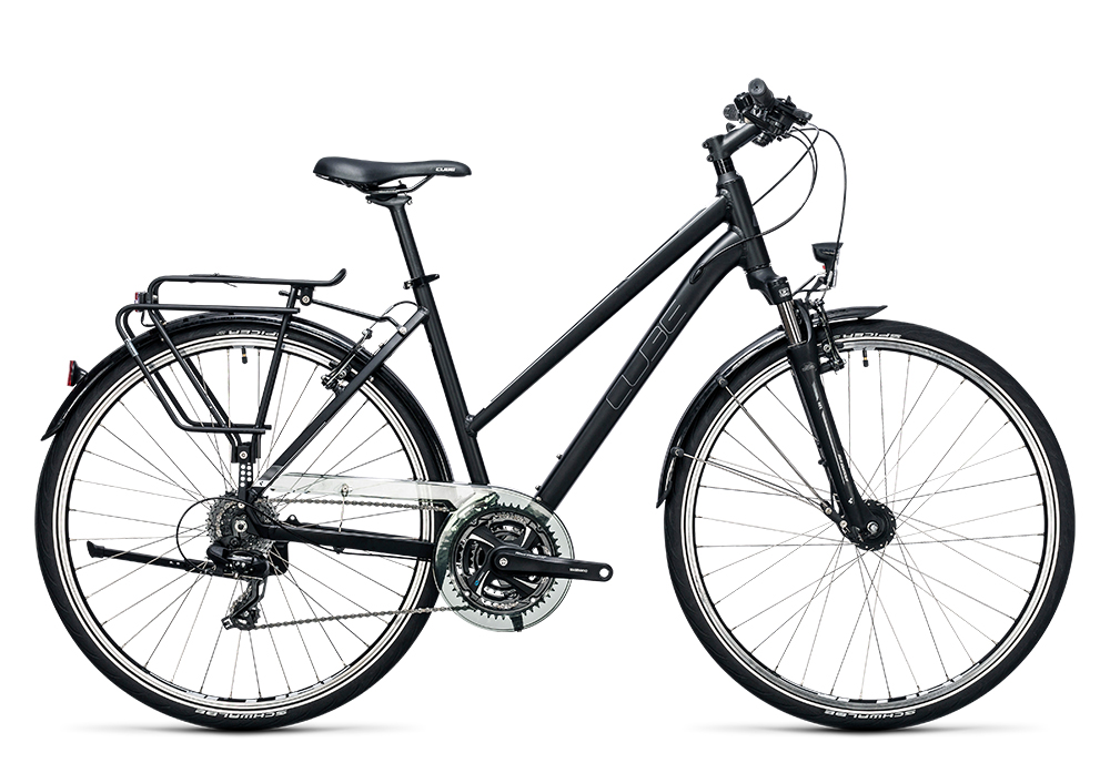 Cube Touring black´n´white 2017 Größe: Easy Entry 46 cm - Bergmann Bike & Outdoor