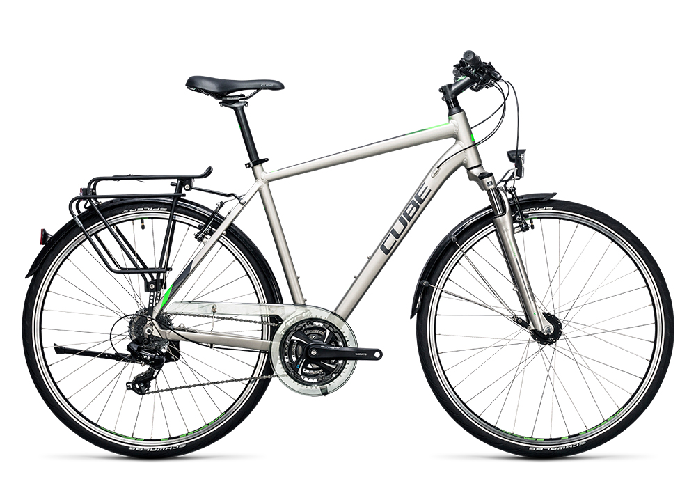 Cube Touring silver´n´flashgreen 2017 Größe: 46 cm - Bergmann Bike & Outdoor