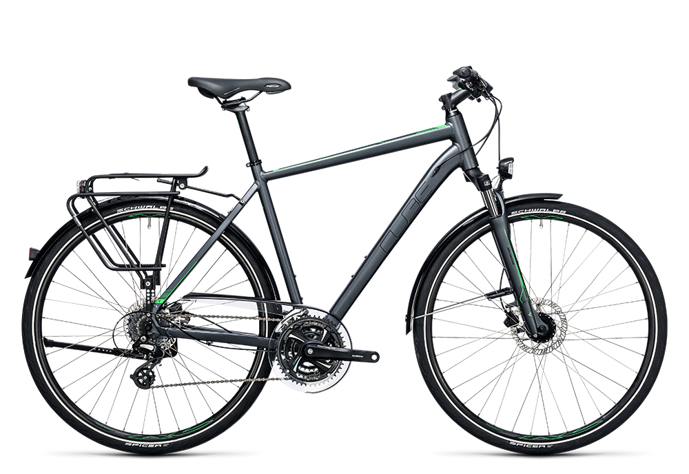 Cube Touring Pro grey´n´flashgreen 2017 Größe: 54 cm - Bergmann Bike & Outdoor