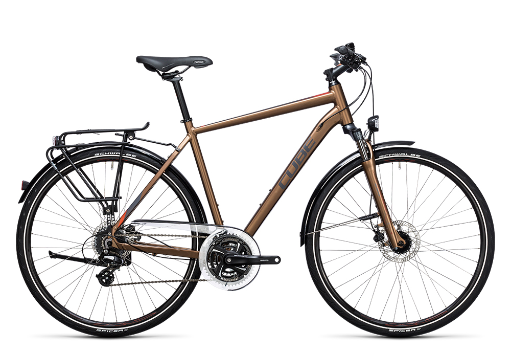 Cube Touring Pro havanna brown´n´orange 2017 Größe: 46 cm - Bergmann Bike & Outdoor