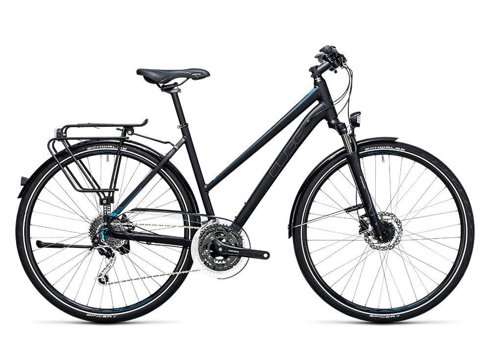 Cube Touring Exc black´n´blue 2017 Größe: Easy Entry 46 cm - Bergmann Bike & Outdoor