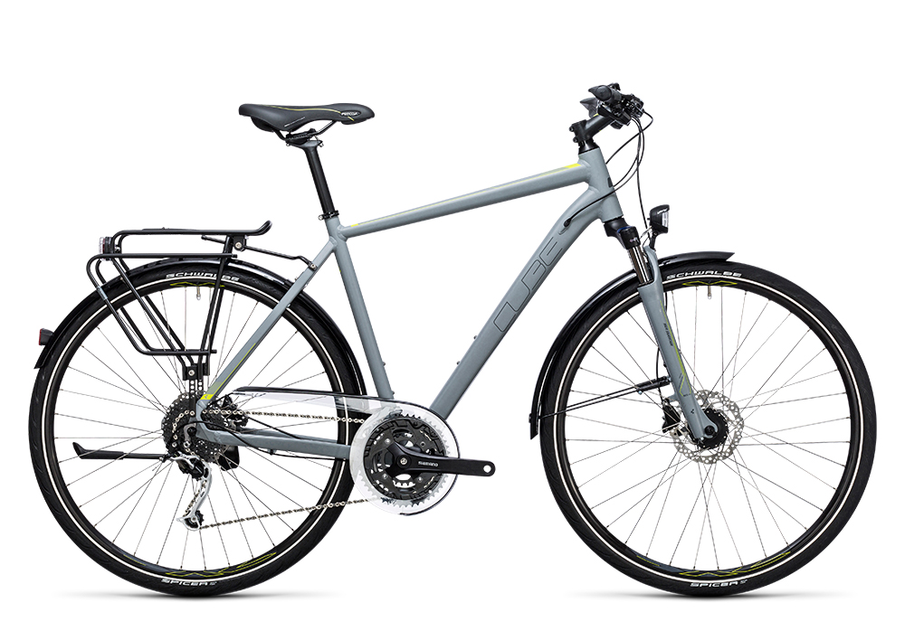 Cube Touring Exc grey´n´lime 2017 Größe: 50 cm - Bergmann Bike & Outdoor